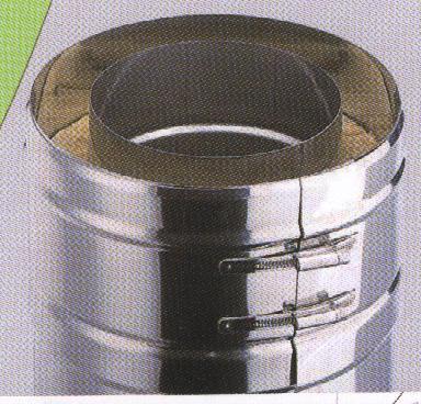 Метална димоходна тръба