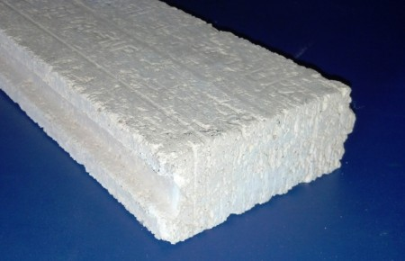 Профилиран шамотен блок с дебелина 50 mm